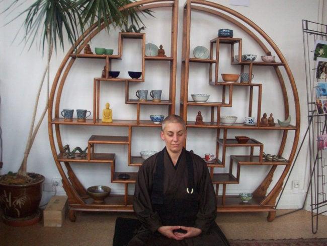 Pratiquante depuis une quinzaine d'années, Kankyo Tannier enseigne maintenant la méditation (Photo DL/Rue 89 Strasbourg/cc)
