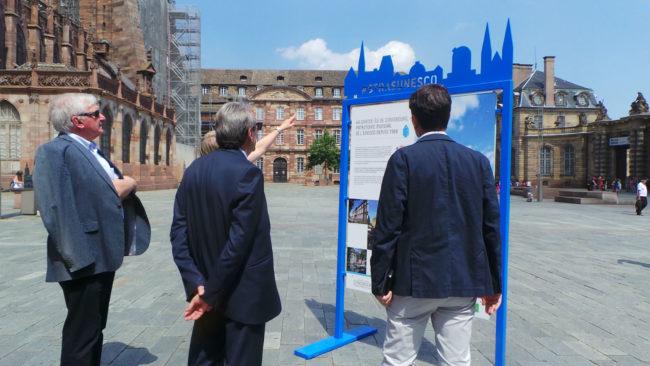 Le but est de rassembler les Strasbourgeois autour de la candidature de la Neustadt à l'UNESCO. (MC / Rue89 Strasbourg / cc)