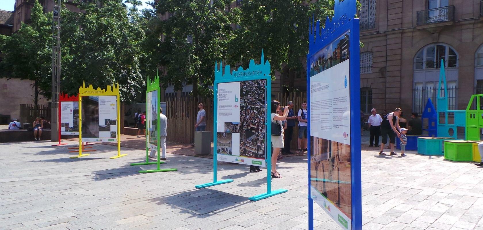 Une exposition pour soutenir la candidature de la Neustadt à l'Unesco