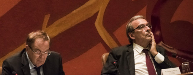 Roland Ries en conseil d'Eurométropole, comment prendre de la hauteur ? (Photo Pascal Bastien / Rue89 Strasbourg)