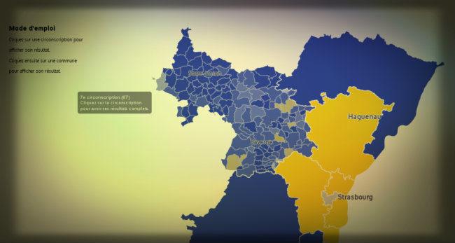 Législatives : au second tour, l'Alsace se rappelle qu'elle est de droite