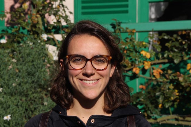 """Ayant participé au programme """"blue-book"""" de la Commission, Pauline Fournols l'admet : """"Ce n'était pas mon meilleur stage."""" (DR / Rue 89 Strasbourg / cc)"""