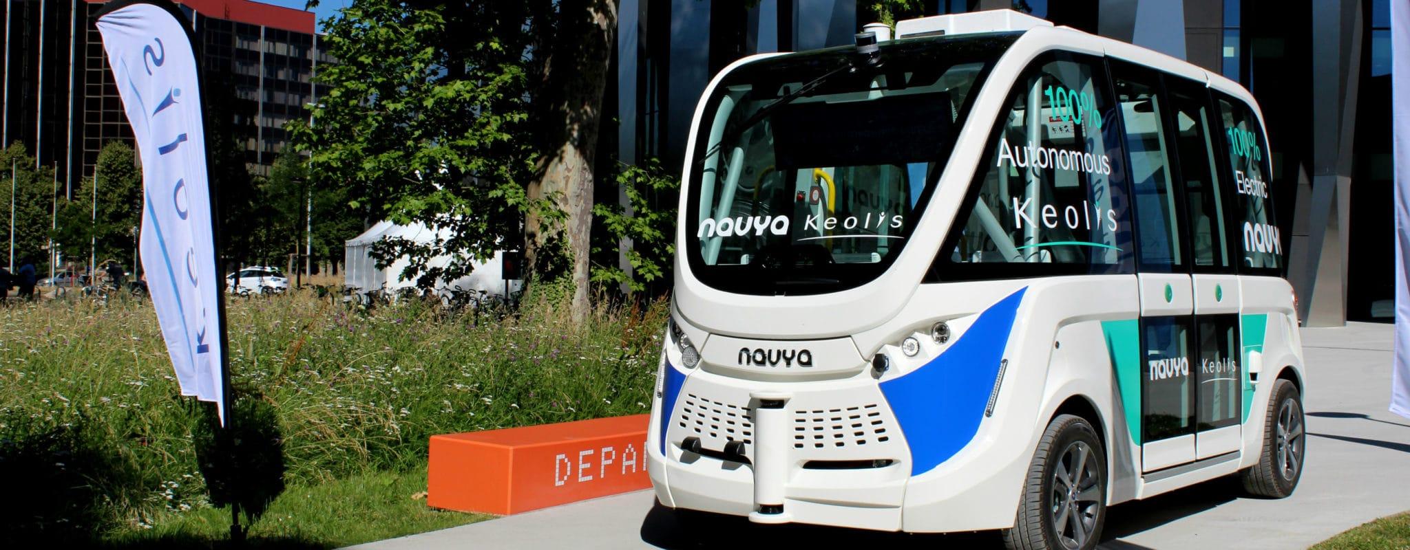 Un aperçu des véhicules du futur en démonstration à Strasbourg