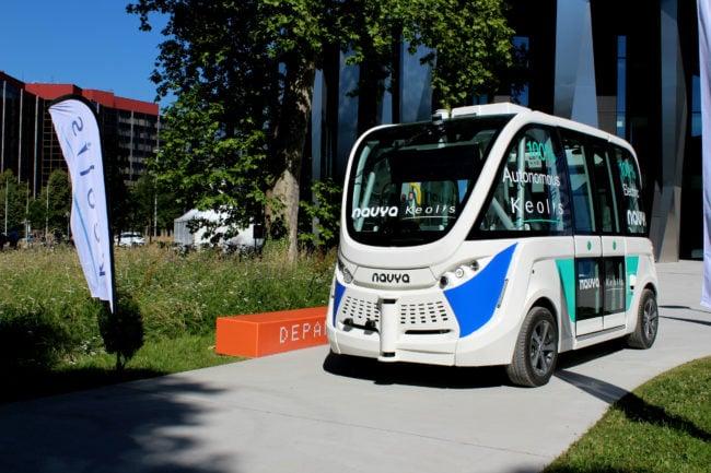 Les véhicules autonomes commencent à se multiplier. (Morgane Carlier / Rue89Strasbourg / cc)