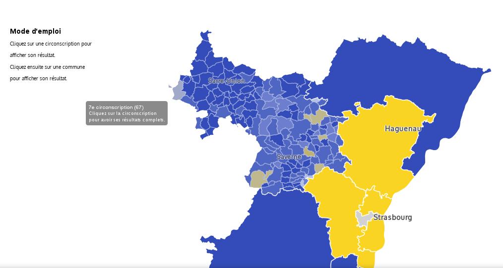 Législatives : la droite résiste à En Marche en Alsace
