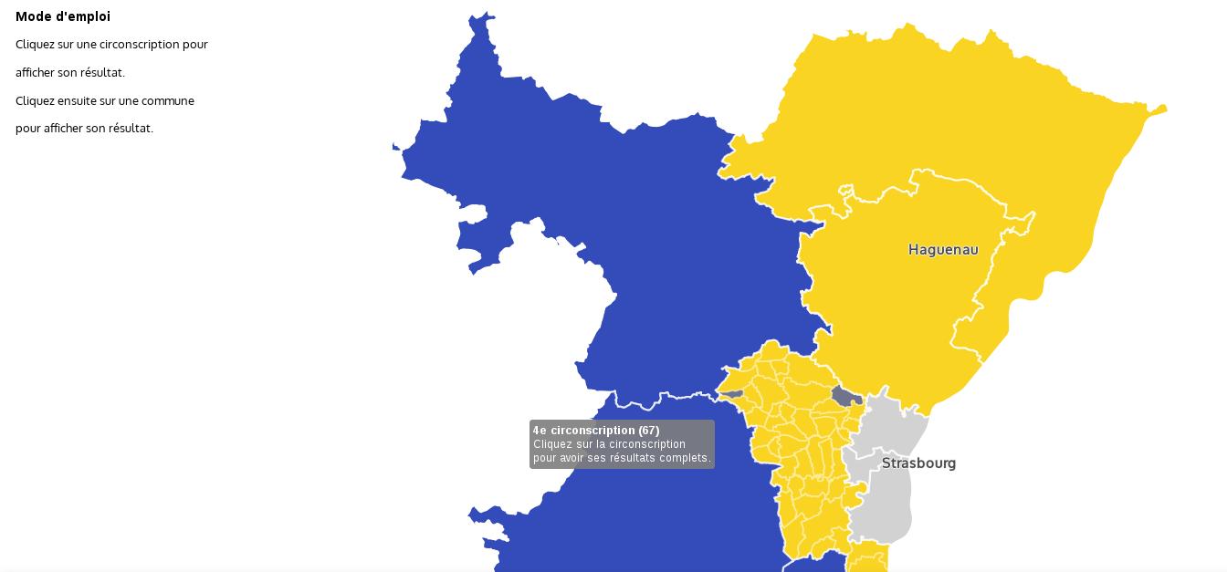 Législatives : le détail de la vague «En Marche» en Alsace