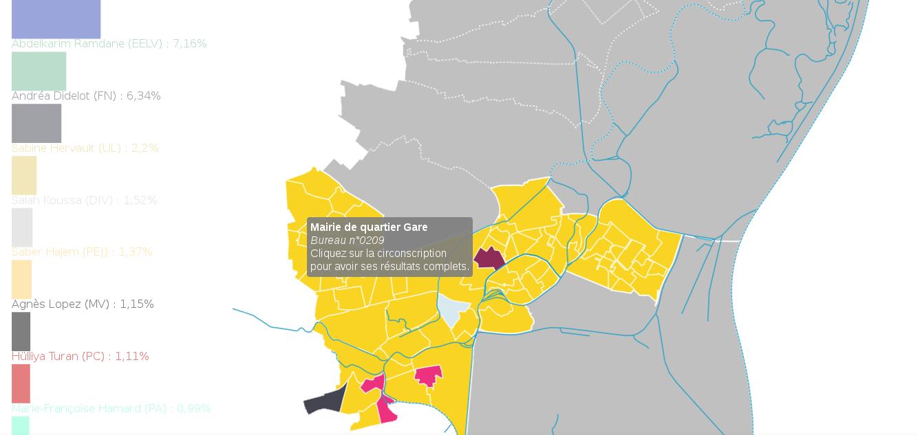 Législatives : à Strasbourg et environs, «En Marche» met plus de 20 points à tout le monde