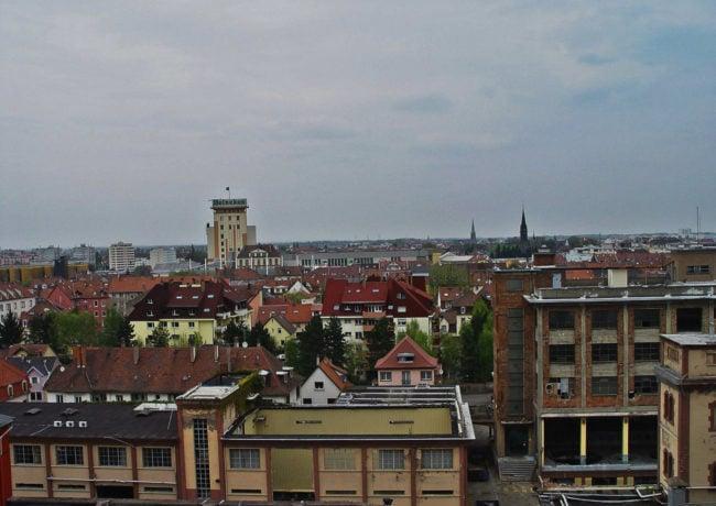 Le scrutin est ouvert dans la troisième circonscription du Bas-Rhin, ici une vue de Schiltigheim (Photo Dee Light / FlickR / cc)