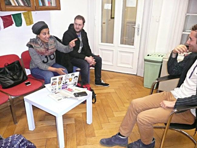 Entre deux partiels, les jeunes musulmans de Coexister plaident pour un retour à l'essentiel (Photo DL / Rue 89 Strasbourg / cc)