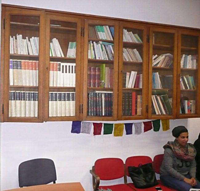 """La lecture et le partage font partie intégrante de la mentalité """"Coexister"""" (Photo DL / Rue 89 Strasbourg / cc)"""