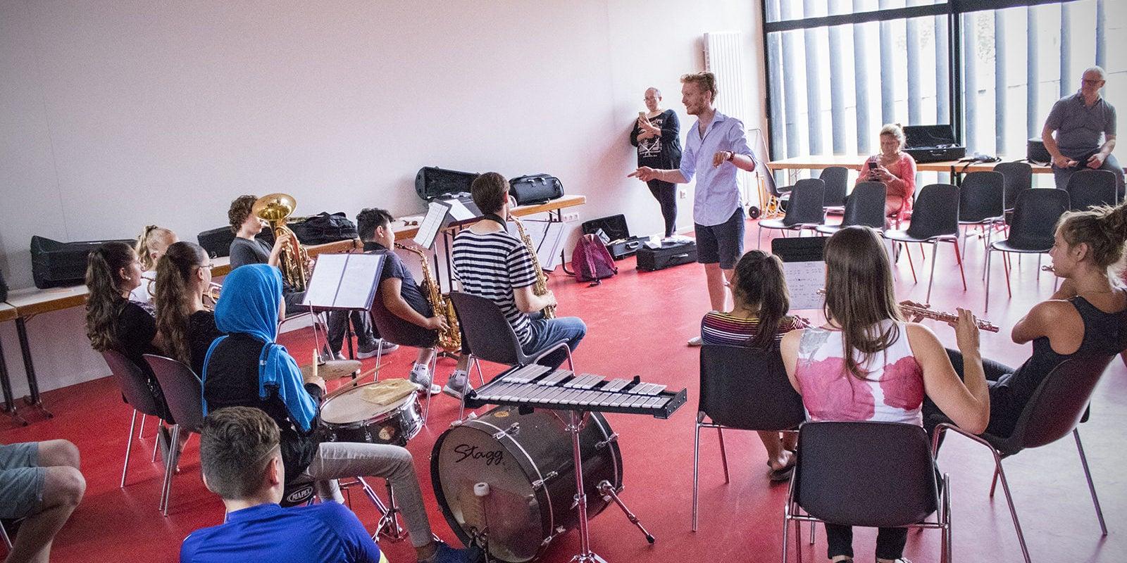 Initiés à la musique, des collégiens du Neuhof à l'assaut des clichés