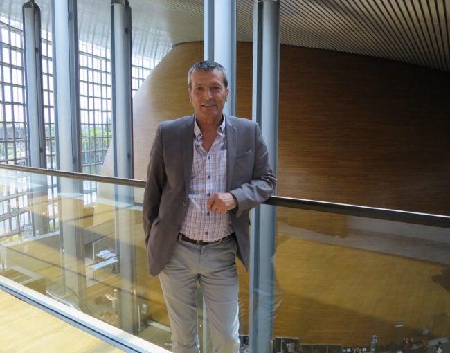 Edouard Martin, eurodéputé socialiste, pense que la meilleure option serait de rassembler toutes les activités parlementaires à Strasbourg. (Photo CS / Rue89 Strasbourg / cc)