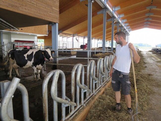 Kevin Goetz a fait une croix sur une carrière de cuisinier pour devenir agriculteur. (Photo CS / Rue89 Strasbourg / cc)