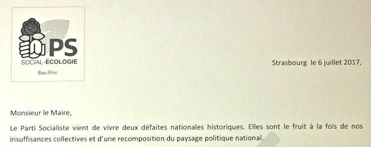 Suite aux défections d'élus à Strasbourg, le PS du Bas-Rhin demande des comptes à Roland Ries