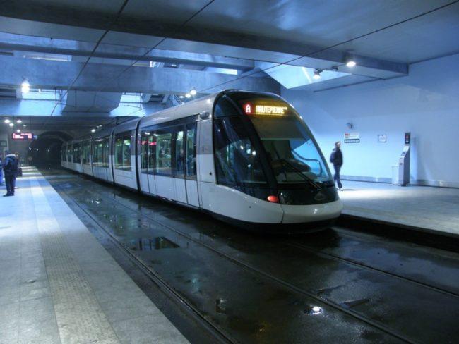 Plus de tramway sous la gare pendant la majeure partie des vacances scolaire (Photo Victor Brito / FlickR / cc)
