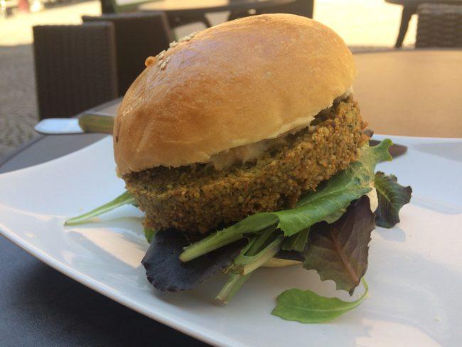 Snack Végi végi burger