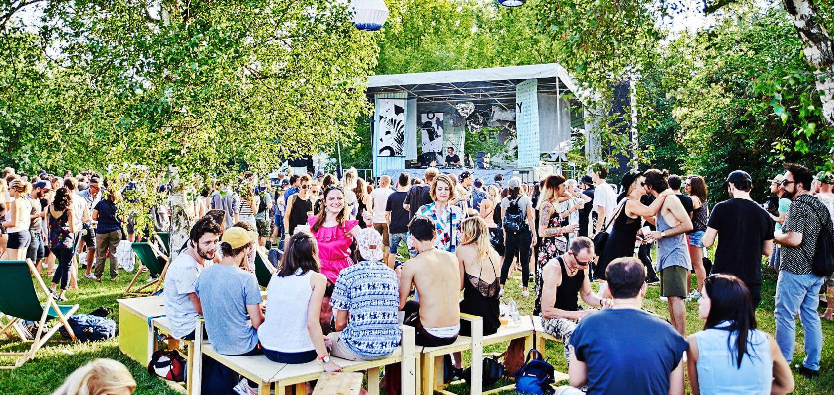 Aux Deux-Rives, electro tranquille et en famille au Longevity Festival