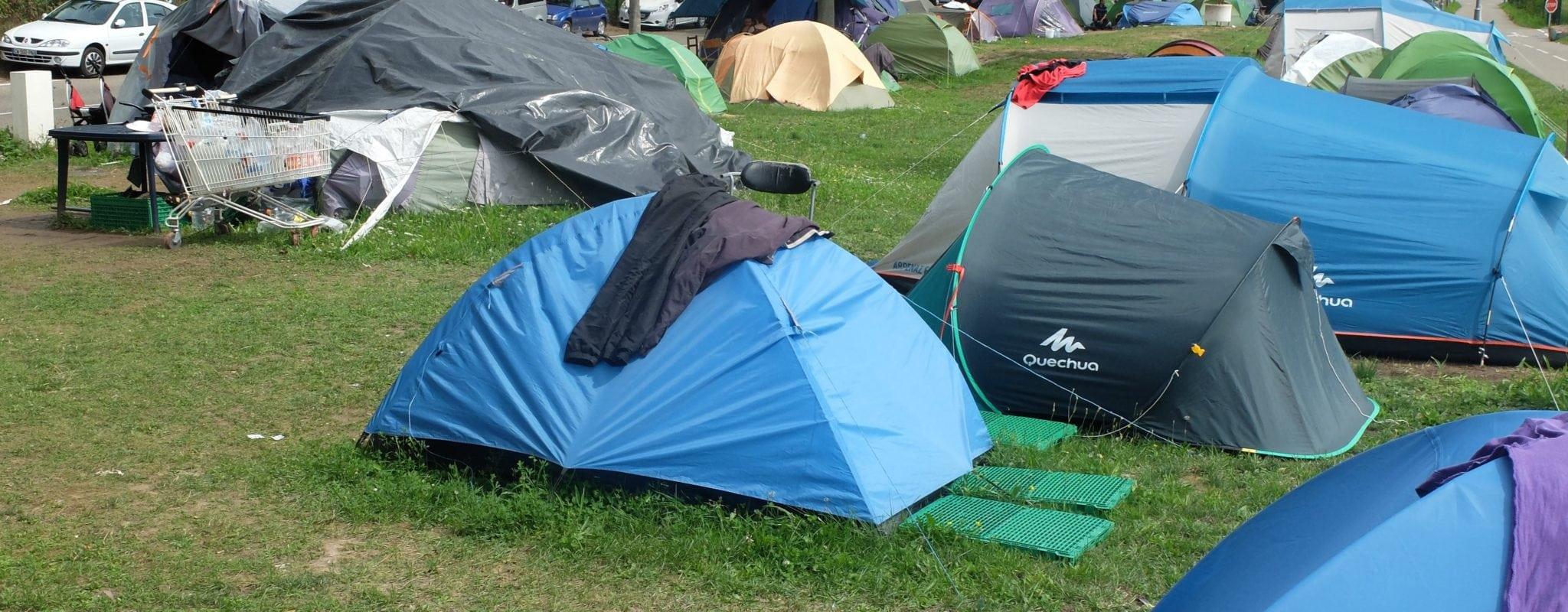 Campement des Remparts : deux mois avant une évacuation