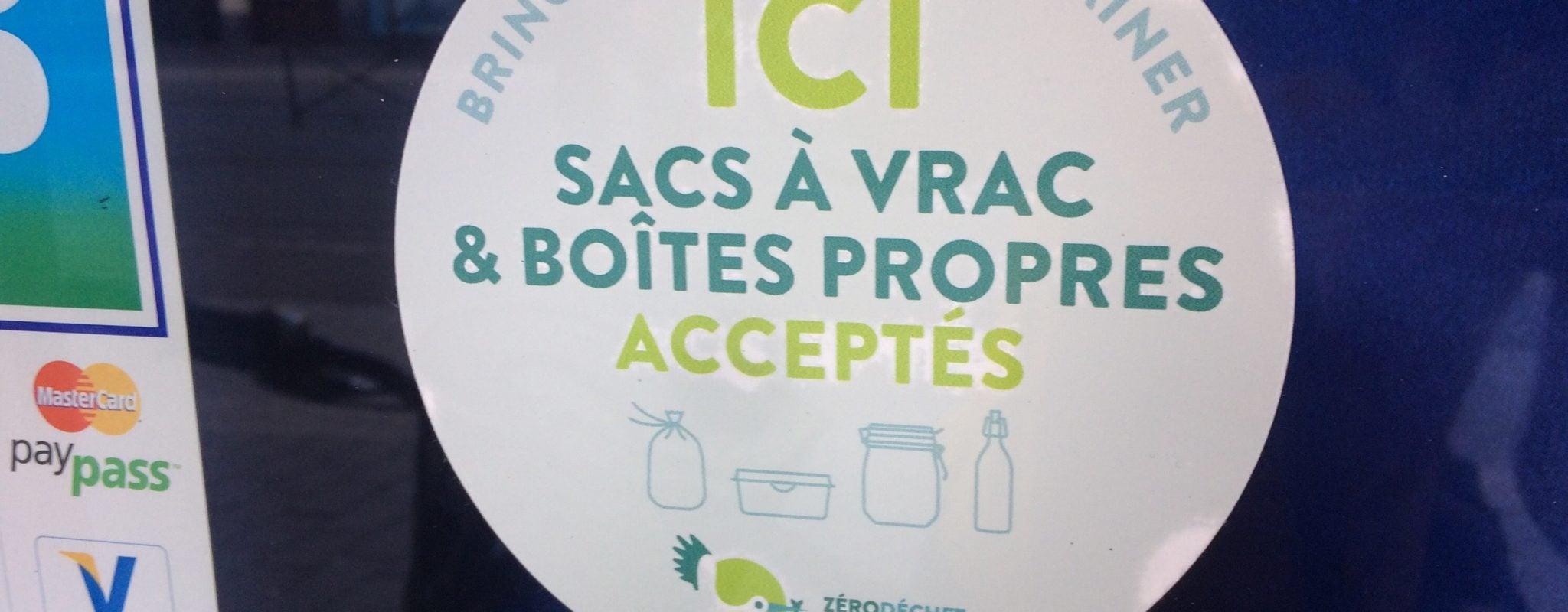 Plus de 60 commerces à Strasbourg arborent des stickers «zéro déchet» sur leurs vitrines