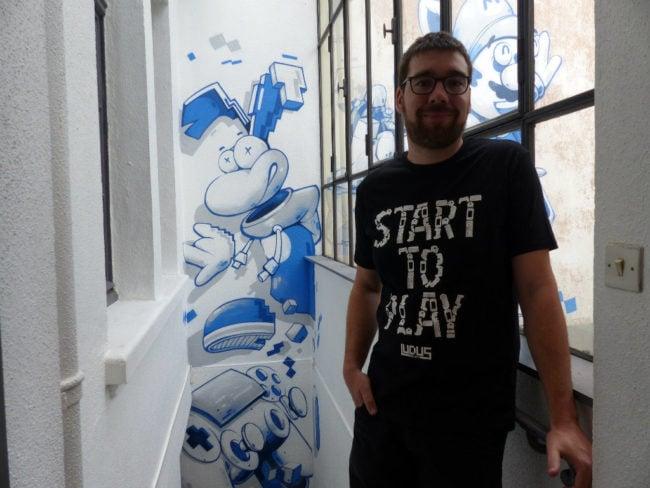 Mathieu Bernhardt jeu vidéo Pixel Museum