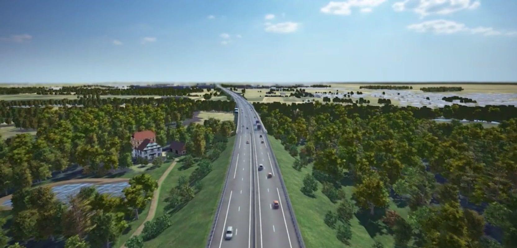 GCO : Le tribunal annule la première version du permis d'aménager le viaduc de Kolbsheim