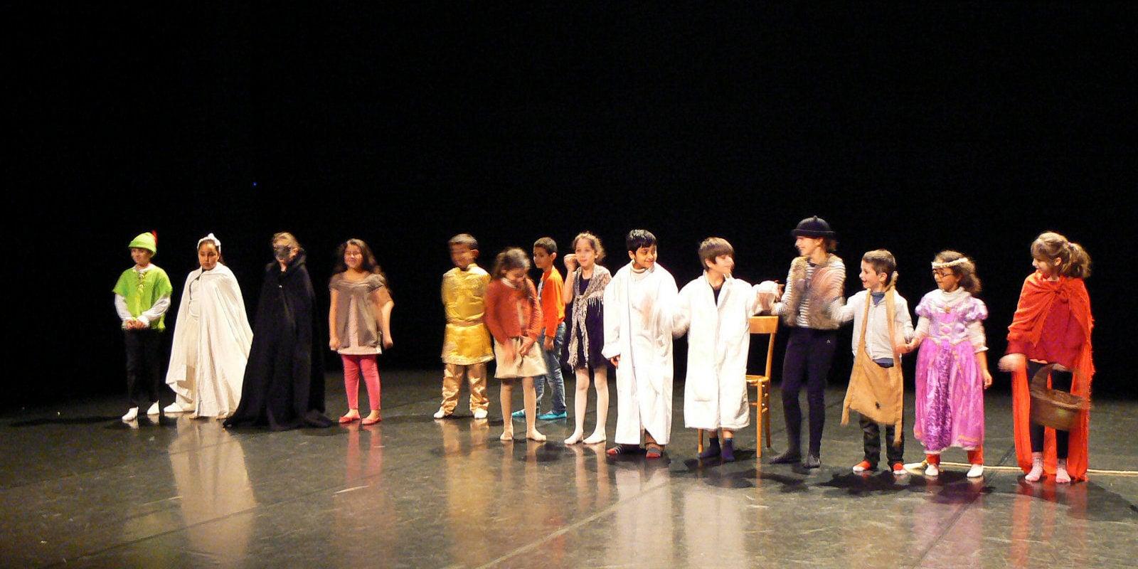 À l'école, des mômes en scène, émotions garanties