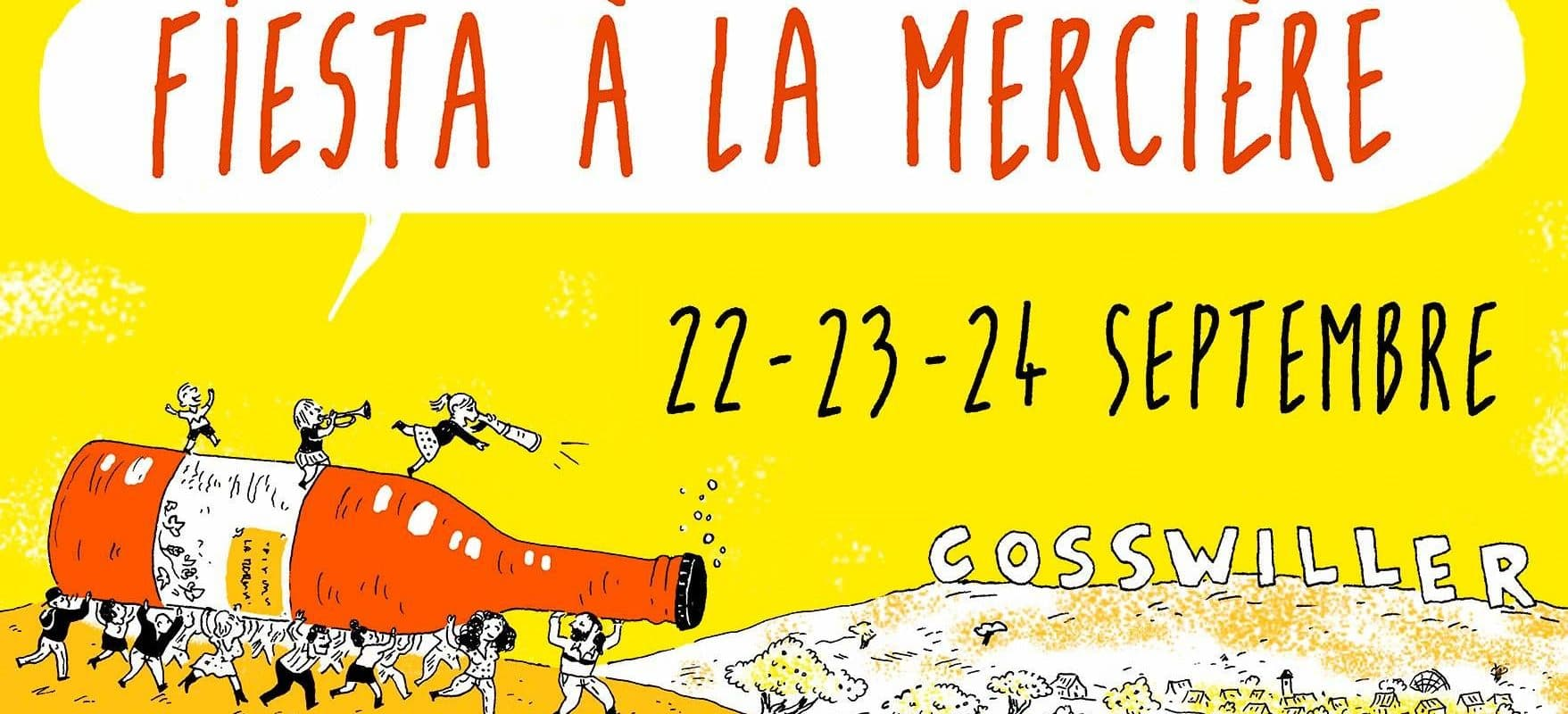 Du 22 au 24 septembre, inauguration festive de la nouvelle brasserie La Mercière à Cosswiller