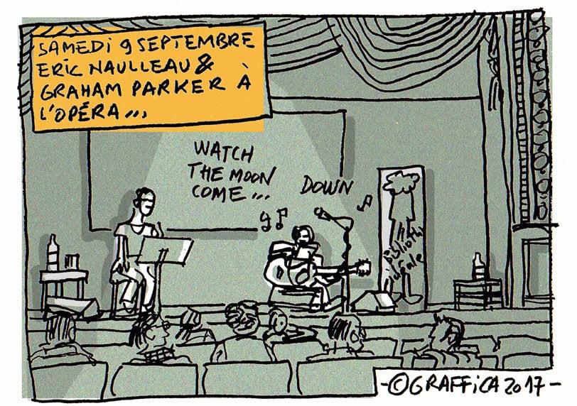 Du rock à l'opéra avec Graham Parker pour les bibliothèques idéales
