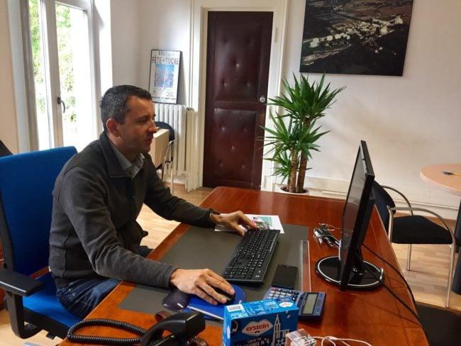 Pour Stéphane Clément, le directeur de la sucrerie d'Erstein, la fin des quotas est une opportunité à saisir. (Photo CS / Rue89 Strasbourg / cc)