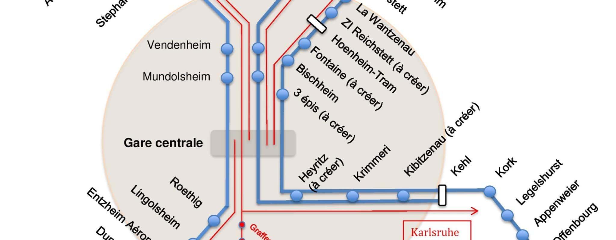 Et si Strasbourg se dotait d'un RER performant ?