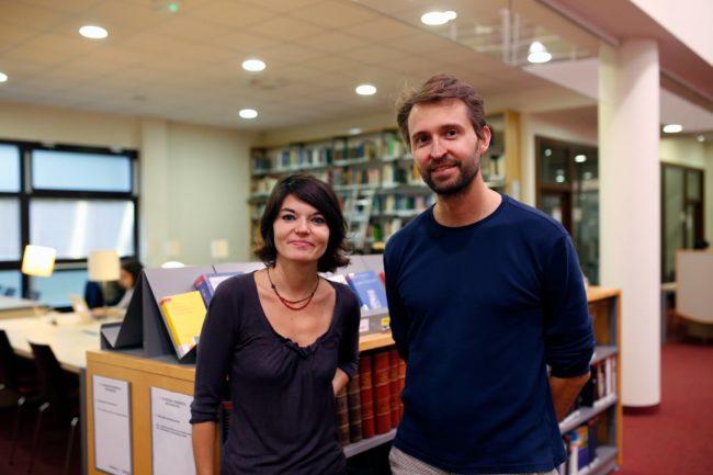 Fleur Laronze et Philippe Gillig (doc remis)