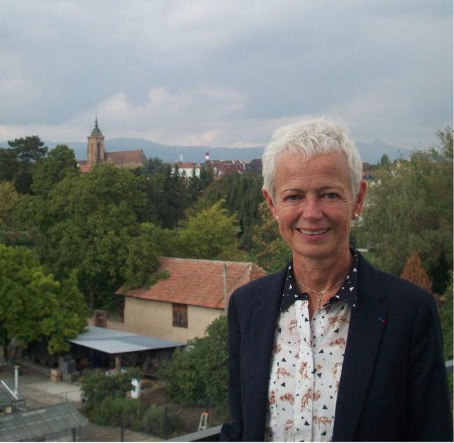 Comme ses prédécesseurs, la nouvelle Présidente a vue sur la vieille ville de Colmar, où elle est élue depuis plus de 30 ans (Photo DL/Rue 89 Strasbourg/cc)
