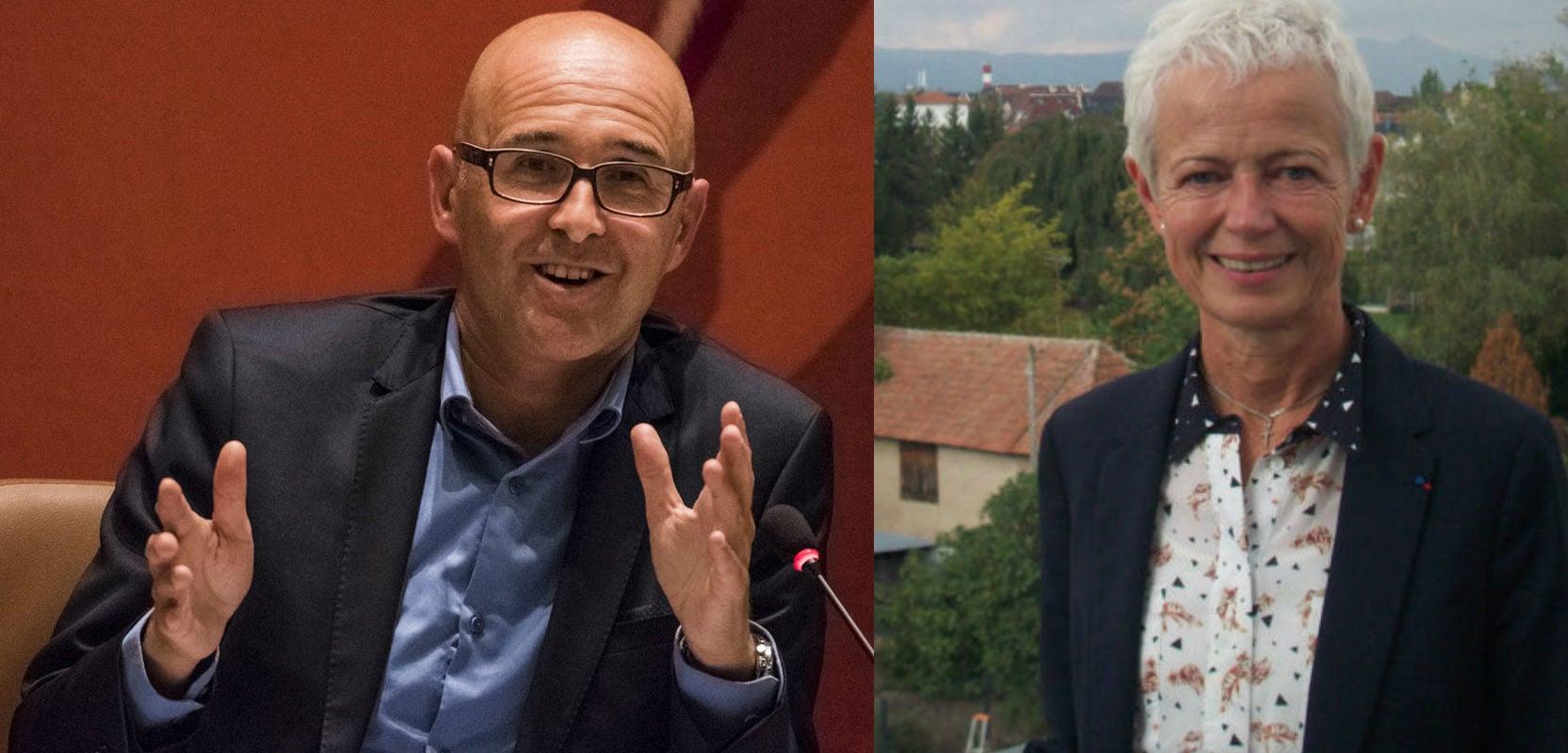 Pour l'Alsace, Klinkert et Bierry jouent les rôles du bon et du mauvais flic