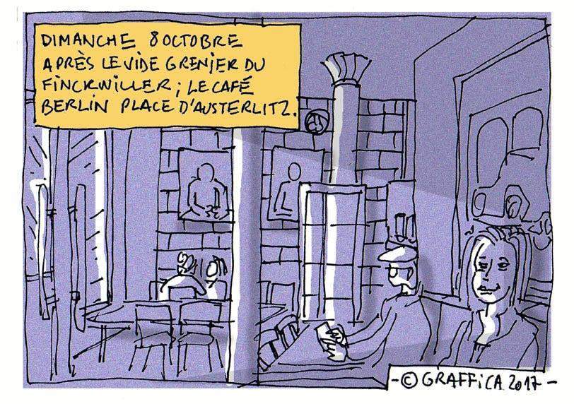 Au Café Berlin le dimanche après-midi