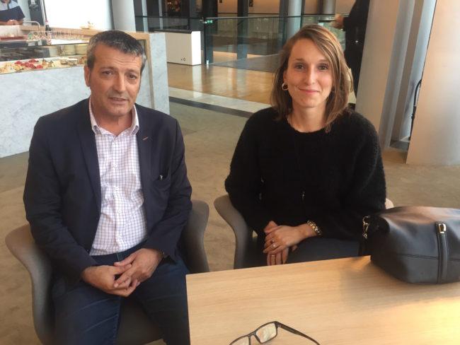 Jeanne Ponté et Edouard Martin sont de ceux qui oeuvrent au premier chef pour lutter contre le harcèlement sexuel au Parlement européen (Photo CS / Rue89 Strasbourg / cc)