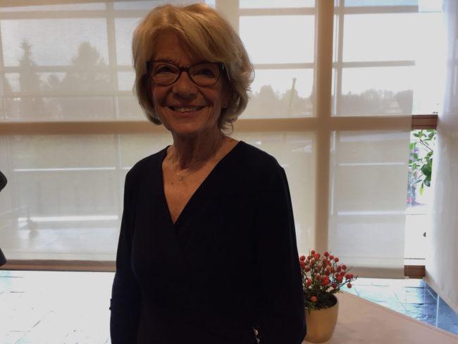 """Pour la députée européenne Elisabeth Morin-Chartier, il faut mettre en place un """"réseau de confiance"""" au sein du Parlement (Photo CS / Rue89 Strasbourg / cc)"""
