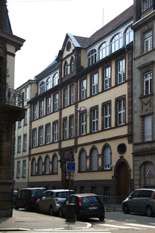 L'ancienne Chambre des métiers à Strasbourg. Aujourd'hui située à Schiltigheim, la CMA manque de transparence (Photo wikimedia commons / cc)