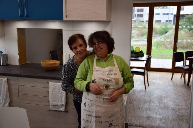 Ce que les résidents préfèrent : les activités communes comme la cuisine (doc remis / Arche Strasbourg / Facebook)