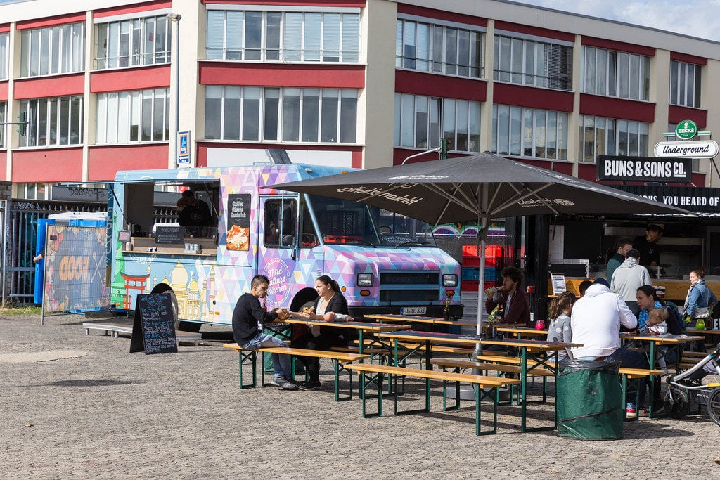 Un «food court» imaginé sur la place de la Porte-Blanche, le long du futur tram