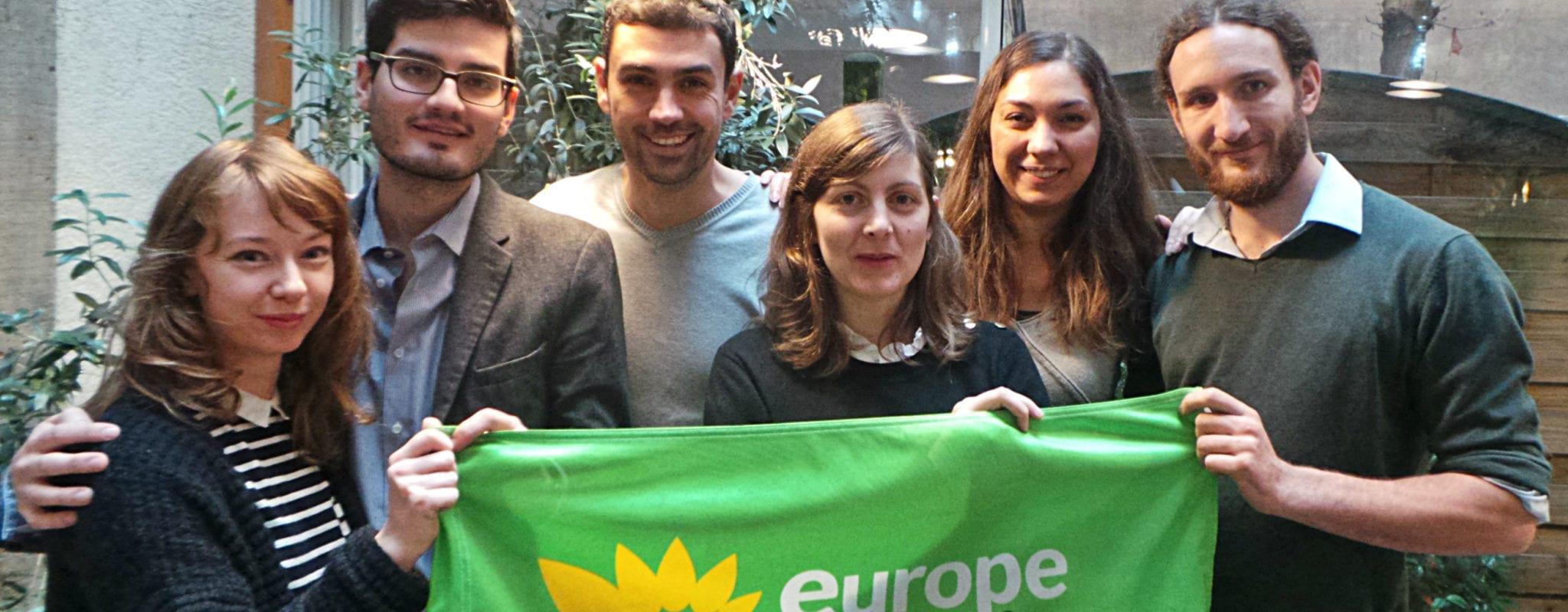 Chez Europe Écologie Les Verts Alsace, les jeunes ont pris le pouvoir