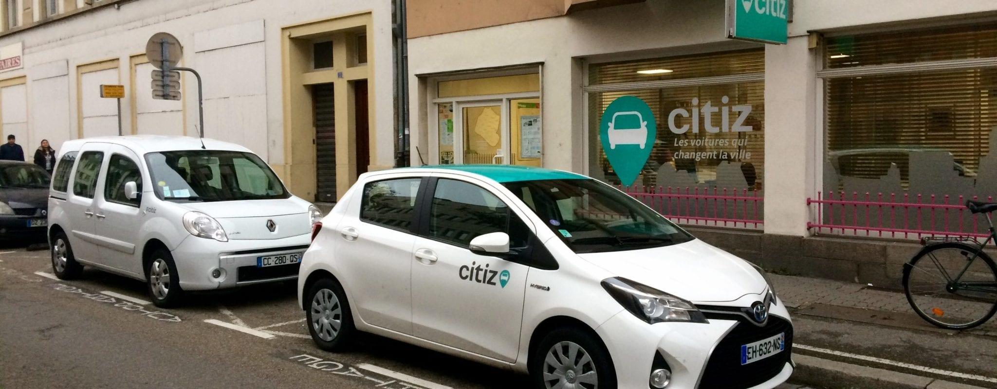 La société d'autopartage Citiz lève 1,3 million d'euros pour mieux essaimer en France