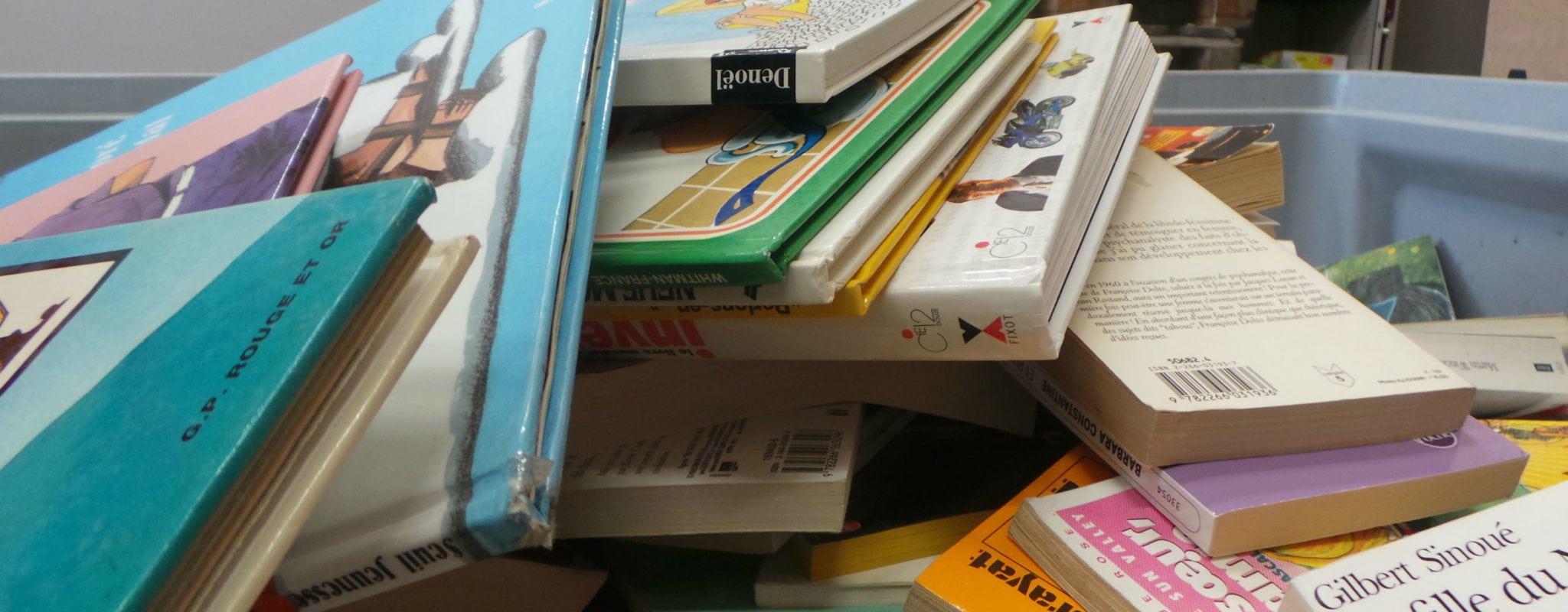 Ne jetez plus vos livres qui prennent la poussière, RecycLivre les récupère