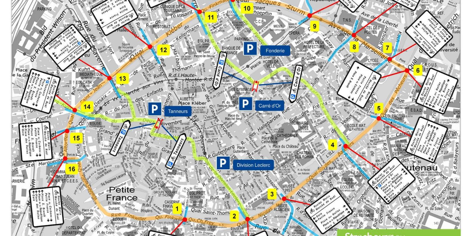 Le plan pour que le marché de Noël ne soit plus un enfer pour cyclistes