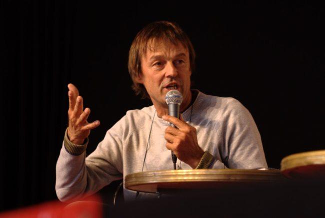 Nicolas Hulot dresse un premier bilan de son début de mandat pour Reporterre (Photo Olivier Tétard / Wikimedia Commons / cc)