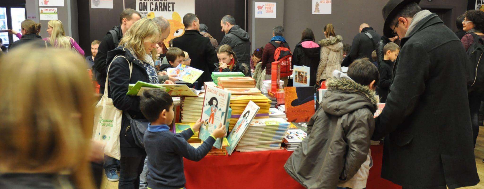Festival de l'édition jeunesse, Schilick on carnet prend ses aises ce week-end