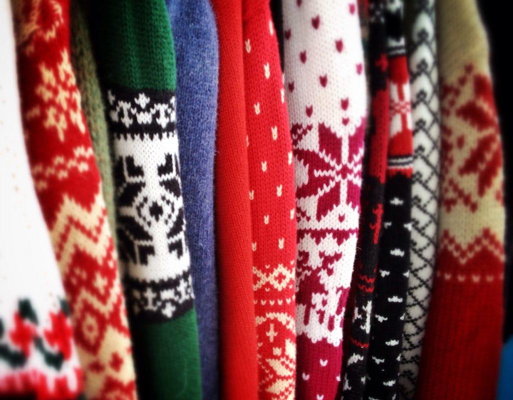 Sortez vos pulls moches pour le concours de Noël