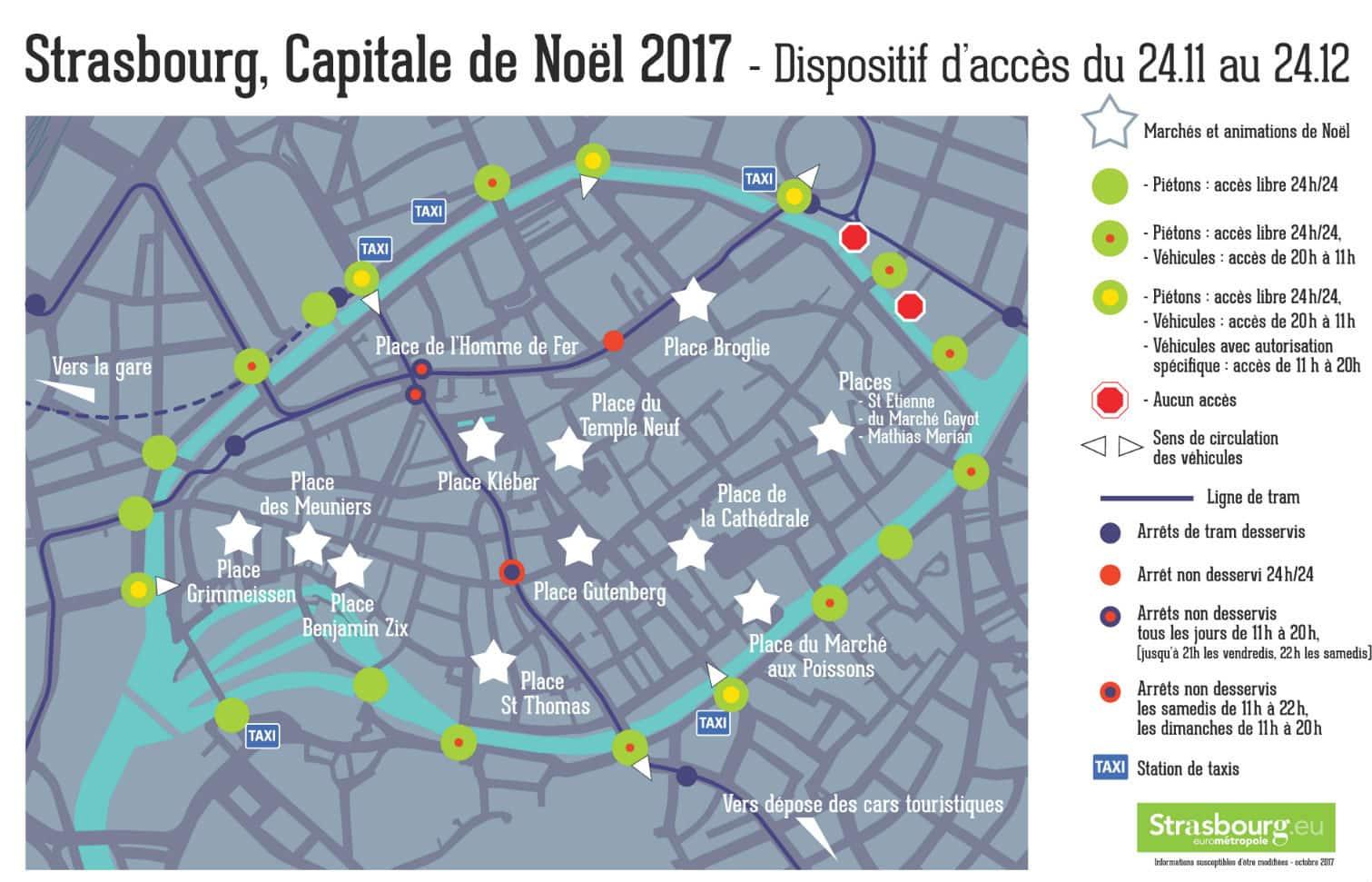 marché noel strasbourg 2018 annulé Marché de Noël 2017 : toutes les infos pratiques et les mesures de  marché noel strasbourg 2018 annulé