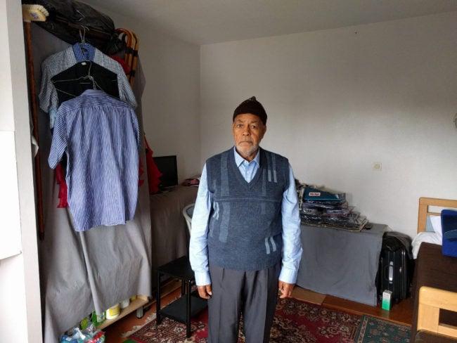 Les Chibanis vivent dans des chambres au confort minimal, ils doivent y passer la majorité de leur temps (Photo PF / Rue89 Strasbourg / cc)