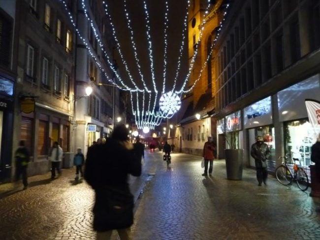 La Grand Rue n'aura pas le chemin de lumière cette année... (Photo Tomate Joyeuse / FlickR / cc)