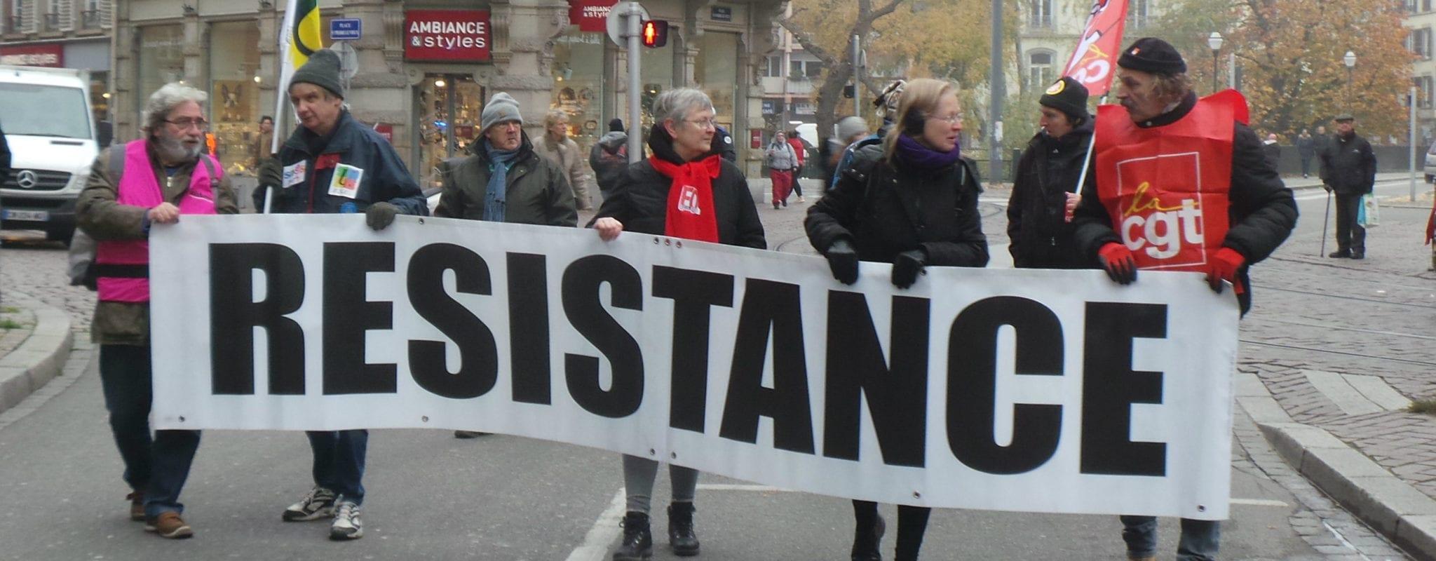 Un millier dans les rues de Strasbourg, contre un gouvernement jugé trop libéral